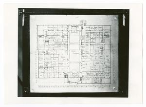 Primary view of object titled '[Map of Dallas Trade Mart, Second Floor]'.