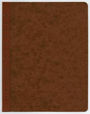 Primary view of object titled '[Back Cover to Notebook]'.
