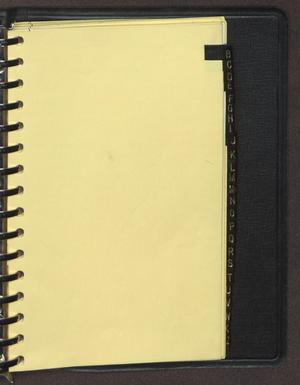 "Primary view of object titled '[Index tab labeled ""B"" from an inventory notebook]'."
