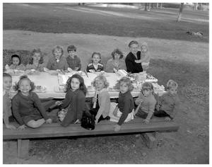 Primary view of object titled 'Children's picnic'.