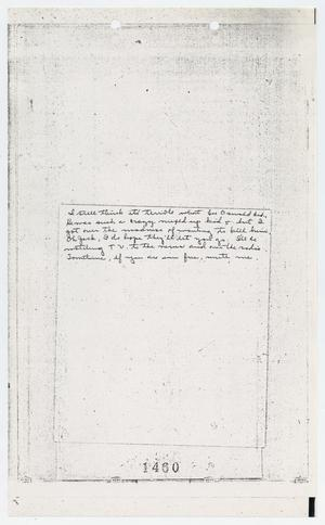 Primary view of object titled '[Letters Sent to Jack Ruby in Jail]'.