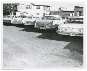 Primary view of object titled '[Cars at the Tippit Shooting #1]'.