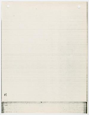 "Primary view of object titled '[Index tab labeled ""M"" #2]'."