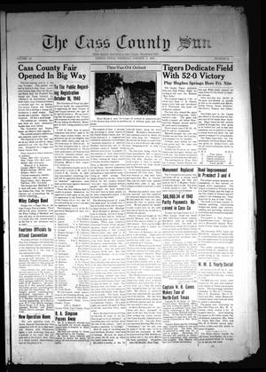 Primary view of object titled 'The Cass County Sun (Linden, Tex.), Vol. 64, No. 42, Ed. 1 Thursday, October 3, 1940'.