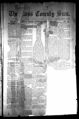 Primary view of object titled 'The Cass County Sun (Linden, Tex.), Vol. 32, No. 13, Ed. 1 Tuesday, March 26, 1907'.