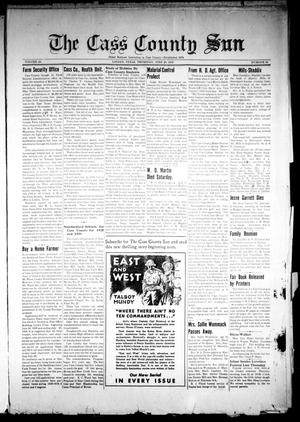 Primary view of object titled 'The Cass County Sun (Linden, Tex.), Vol. 64, No. 26, Ed. 1 Thursday, June 29, 1939'.