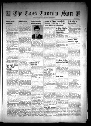 Primary view of object titled 'The Cass County Sun (Linden, Tex.), Vol. 68, No. 4, Ed. 1 Thursday, January 27, 1944'.