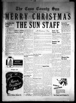 Primary view of object titled 'The Cass County Sun (Linden, Tex.), Vol. 77, No. 52, Ed. 1 Thursday, December 24, 1953'.