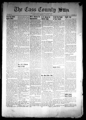 The Cass County Sun (Linden, Tex.), Vol. 64, No. 2, Ed. 1 Thursday, January 11, 1940
