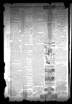 Primary view of object titled 'The Cass County Sun (Linden, Tex.), Vol. [32], No. [37], Ed. 1 Tuesday, September 10, 1907'.