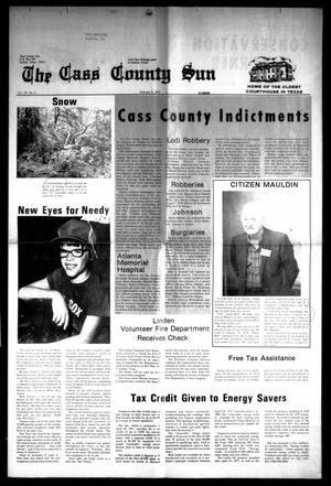 Primary view of object titled 'The Cass County Sun (Linden, Tex.), Vol. 103, No. 6, Ed. 1 Thursday, February 8, 1979'.
