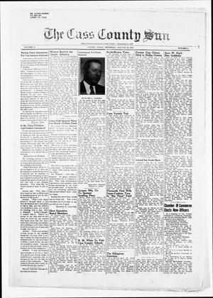 Primary view of object titled 'The Cass County Sun (Linden, Tex.), Vol. 73, No. 5, Ed. 1 Thursday, January 29, 1948'.