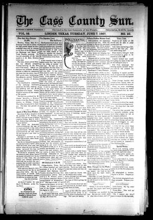 Primary view of object titled 'The Cass County Sun (Linden, Tex.), Vol. 52, No. 23, Ed. 1 Tuesday, June 7, 1927'.
