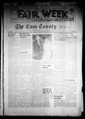Primary view of object titled 'The Cass County Sun (Linden, Tex.), Vol. 64, No. 38, Ed. 1 Thursday, September 21, 1939'.