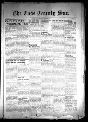 Primary view of object titled 'The Cass County Sun (Linden, Tex.), Vol. 64, No. 37, Ed. 1 Thursday, August 29, 1940'.