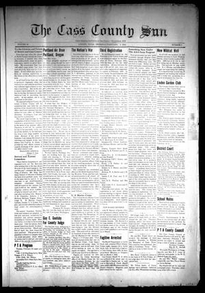 Primary view of object titled 'The Cass County Sun (Linden, Tex.), Vol. 66, No. 6, Ed. 1 Thursday, February 5, 1942'.