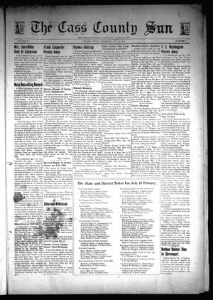 Primary view of object titled 'The Cass County Sun (Linden, Tex.), Vol. 66, No. 28, Ed. 1 Thursday, July 9, 1942'.