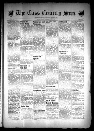 Primary view of object titled 'The Cass County Sun (Linden, Tex.), Vol. 66, No. 14, Ed. 1 Thursday, April 2, 1942'.