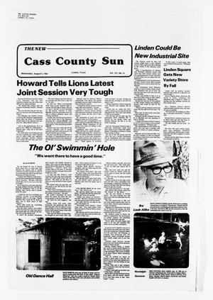 Primary view of object titled 'The New Cass County Sun (Linden, Tex.), Vol. 107, No. 31, Ed. 1 Wednesday, August 3, 1983'.