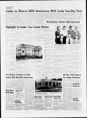 Primary view of object titled 'Marshall News Messenger (Marshall, Tex.), Vol. 72, Ed. 1 Sunday, June 27, 1948'.
