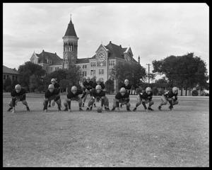 Primary view of object titled 'St. Edward's Football Team'.