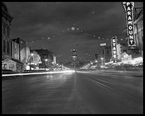 Primary view of object titled 'Christmas Lights on Congress Avenue'.