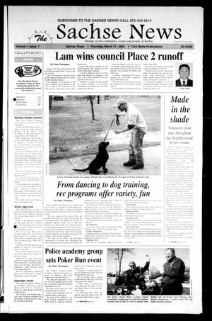 Primary view of object titled 'The Sachse News (Sachse, Tex.), Vol. 1, No. 7, Ed. 1 Thursday, March 17, 2005'.
