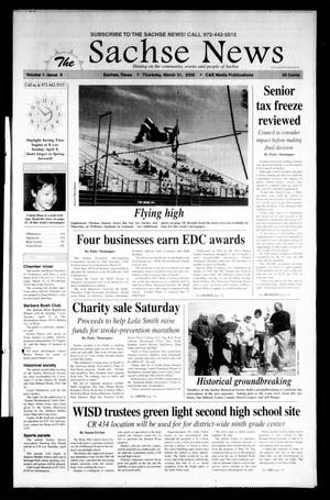 Primary view of object titled 'The Sachse News (Sachse, Tex.), Vol. 1, No. 9, Ed. 1 Thursday, March 31, 2005'.