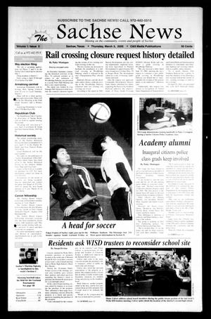 The Sachse News (Sachse, Tex.), Vol. 1, No. 5, Ed. 1 Thursday, March 3, 2005