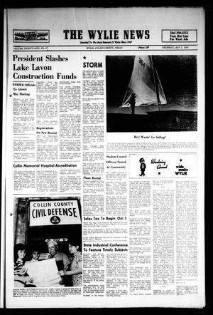 Primary view of object titled 'The Wylie News (Wylie, Tex.), Vol. 21, No. 47, Ed. 1 Thursday, May 1, 1969'.