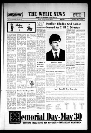 The Wylie News (Wylie, Tex.), Vol. 21, No. 51, Ed. 1 Thursday, May 29, 1969
