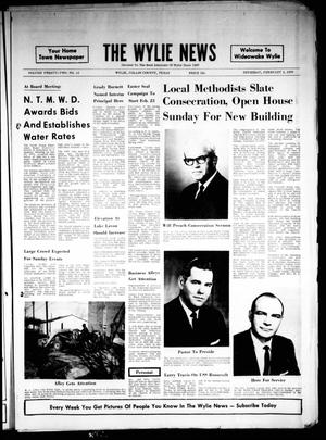 The Wylie News (Wylie, Tex.), Vol. 22, No. 34, Ed. 1 Thursday, February 5, 1970