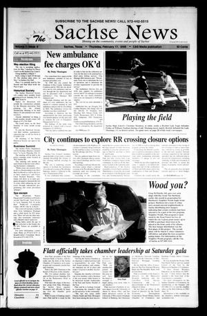 Primary view of object titled 'The Sachse News (Sachse, Tex.), Vol. 1, No. 3, Ed. 1 Thursday, February 17, 2005'.