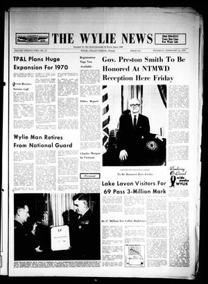 The Wylie News (Wylie, Tex.), Vol. 22, No. 35, Ed. 1 Thursday, February 12, 1970