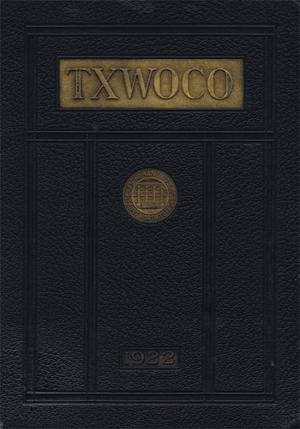 TXWOCO, Yearbook of Texas Woman's College, 1922