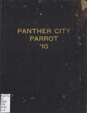 Primary view of object titled 'The Panther City Parrot, Yearbook of Polytechnic College, 1910'.