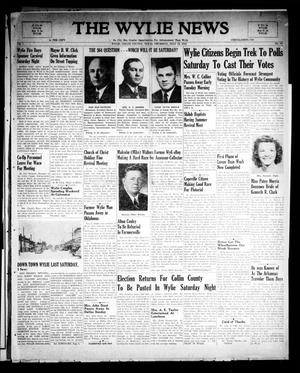 Primary view of object titled 'The Wylie News (Wylie, Tex.), Vol. 1, No. 19, Ed. 1 Thursday, July 22, 1948'.