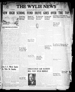 Primary view of object titled 'The Wylie News (Wylie, Tex.), Vol. 1, No. 15, Ed. 1 Thursday, June 24, 1948'.