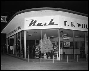 Primary view of object titled 'P.K. Williams Nash Company - Christmas Window'.