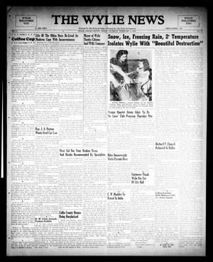 The Wylie News (Wylie, Tex.), Vol. 1, No. 47, Ed. 1 Thursday, February 3, 1949