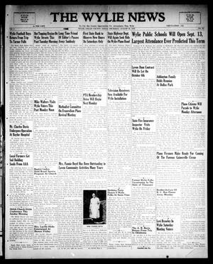 Primary view of object titled 'The Wylie News (Wylie, Tex.), Vol. 1, No. 24, Ed. 1 Thursday, August 26, 1948'.