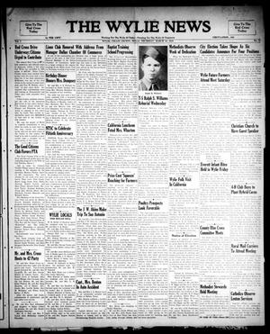 Primary view of object titled 'The Wylie News (Wylie, Tex.), Vol. 1, No. 52, Ed. 1 Thursday, March 10, 1949'.