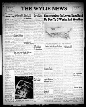 Primary view of object titled 'The Wylie News (Wylie, Tex.), Vol. 1, No. 51, Ed. 1 Thursday, March 3, 1949'.