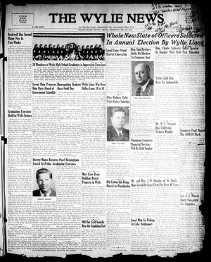 Primary view of object titled 'The Wylie News (Wylie, Tex.), Vol. 1, No. [11], Ed. 1 Thursday, May 27, 1948'.