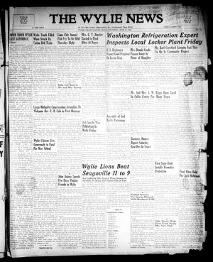 Primary view of object titled 'The Wylie News (Wylie, Tex.), Vol. 1, No. 14, Ed. 1 Thursday, June 17, 1948'.