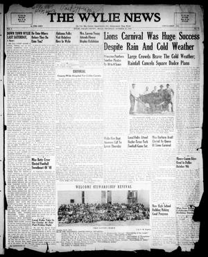 The Wylie News (Wylie, Tex.), Vol. 1, No. 32, Ed. 1 Thursday, October 21, 1948