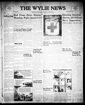 Primary view of object titled 'The Wylie News (Wylie, Tex.), Vol. 2, No. 51, Ed. 1 Thursday, March 9, 1950'.