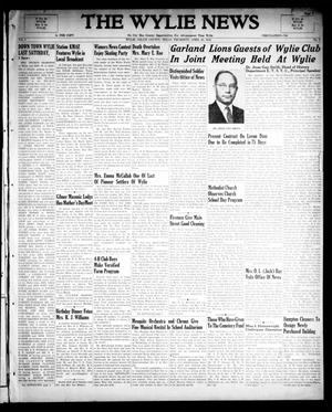 Primary view of object titled 'The Wylie News (Wylie, Tex.), Vol. 1, No. 5, Ed. 1 Friday, April 23, 1948'.
