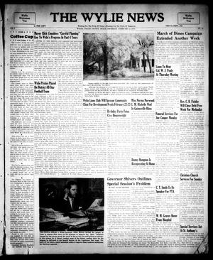Primary view of object titled 'The Wylie News (Wylie, Tex.), Vol. 2, No. 46, Ed. 1 Thursday, February 2, 1950'.