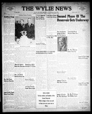 Primary view of object titled 'The Wylie News (Wylie, Tex.), Vol. 1, No. 43, Ed. 1 Thursday, January 6, 1949'.